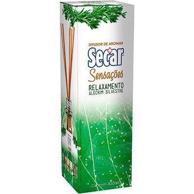 Aromatizador de ambiente entusiasmo Bamboo 100ml Secar CX 1 UN