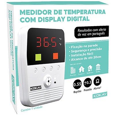Termômetro Digital de parede com display 058-0665 Kokay CX 1 UN