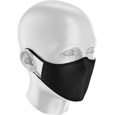 Máscara lavável em tecido preta 3411 Sizely PT 1 UN