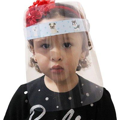 Protetor facial - Face Shield em PP 0,3mm infantil Plascony PT 1 UN