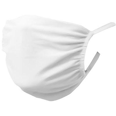Máscara lavável em tecido branca 0380001 Portallar PT 3 UN