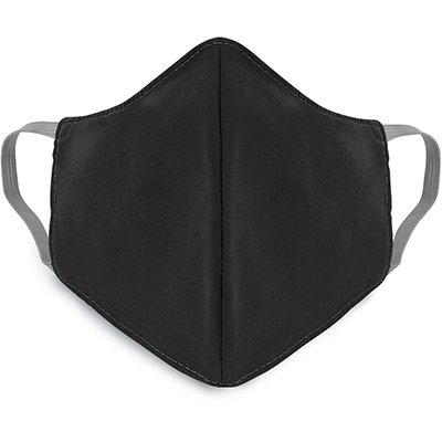 Máscara lavável em tricoline misto preta 00203 Dermiwil PT 1 UN