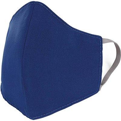 Máscara lavável em tricoline misto azul 00205 Dermiwil PT 1 UN