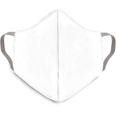 Máscara lavável em tricoline misto branca 00208 Dermiwil PT 1 UN