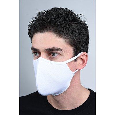 Máscara lavável em tecido branca 7574-C2 Darea PT 2 UN