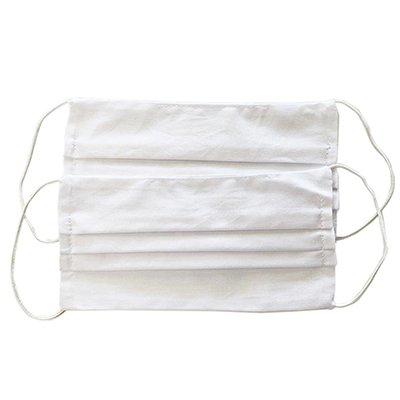 Máscara lavável em tricoline dupla camada branca Luminae PT 2 UN
