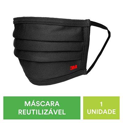 Máscara lavável de tecido 3m tam. único UU01125343 3M PT 1 UN