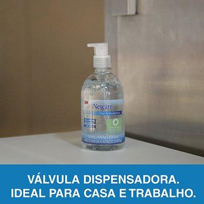 Álcool em gel antisséptico 500ml Nexcare HB00467696 3M CX 1 UN