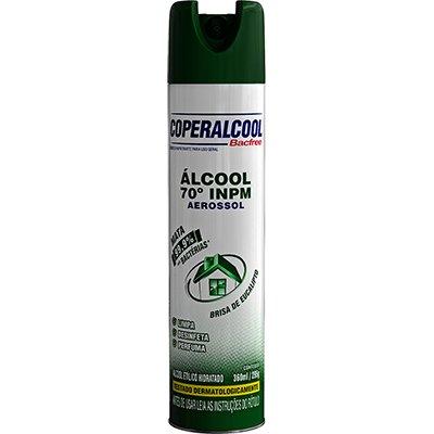Álcool Bacfree 70% aerossol eucalipto 360ml 012 Alcool Ferreira PT 1 UN