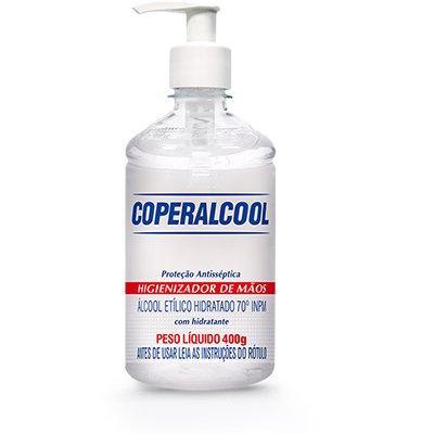 Álcool em gel antisséptico 400g 446 Coperalcool PT 1 UN