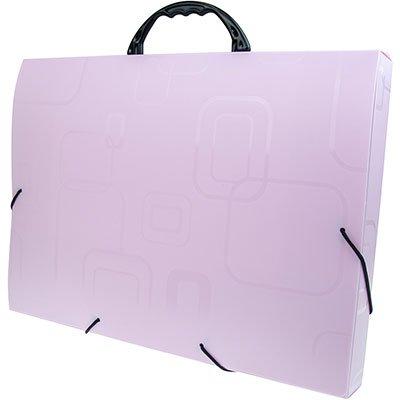 Maleta polipropileno ofício 40mm rosa claro 2152.Q.000 Dello PT 1 UN