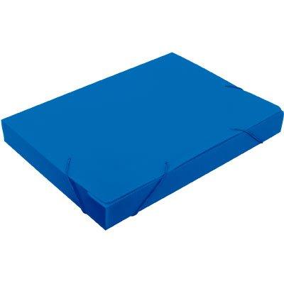 Pasta novaonda ofício 335x245x35mm azul Polibrás PT 1 UN