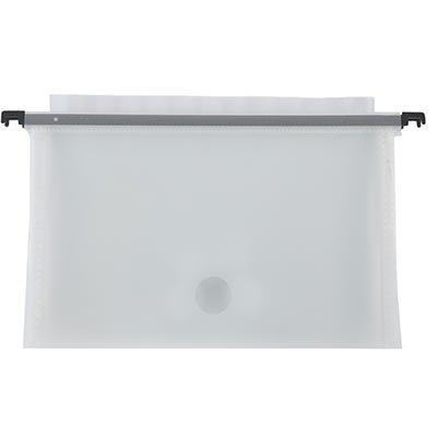 Pasta suspensa plástica transparente c/ 12 divisórias SS12 Plascony PT 1 UN
