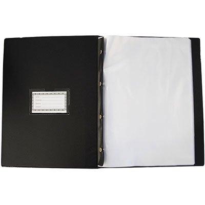 Pasta catálogo c/ 100 envelopes ofício 0,12 pebd executivo 143 Plastpark PT 1 UN