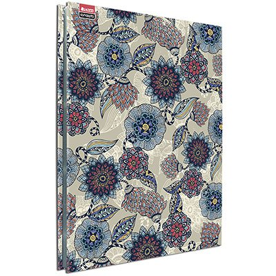 Pasta catálogo c/ 25 envelopes ofício floral c/ colchete 5478-9 Chies PT 1 UN