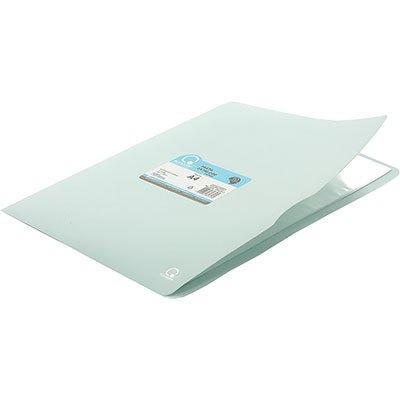 Pasta catálogo c/ 10 envelopes A4 frente azul pastel 110A4 Plascony PT 1 PT
