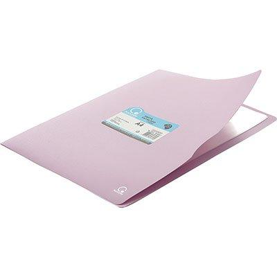 Pasta catálogo c/ 10 envelopes A4 frente lilás pastel 110A4 Plascony PT 1 PT
