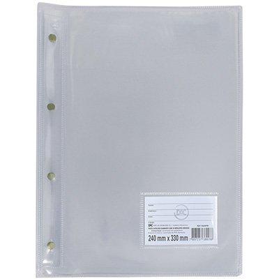 Pasta catálogo c/ 10 envelopes 0,15 pvc diamante transparente 5028tr DAC PT 1 UN