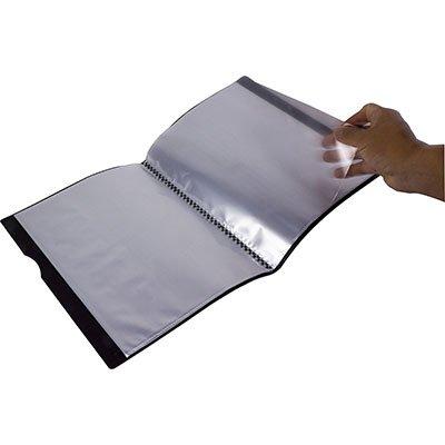 Pasta catálogo c/ 30 envelopes 0,05 pp A4 Executive preta 6056 Dello PT 1 UN