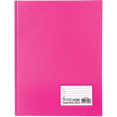 Pasta catálogo c/ 50 envelopes 0,6 ofício c/ visor pink 1090PI DAC PT 1 UN