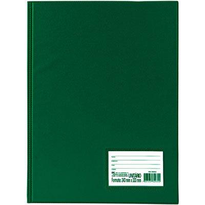 Pasta catálogo c/ 50 envelopes 0,6 ofício c/ visor verde 1090VD DAC PT 1 UN