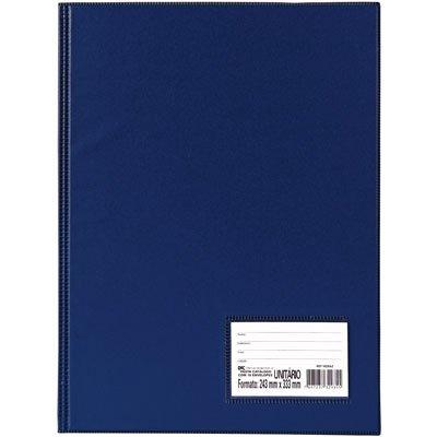 Pasta catálogo c/ 50 envelopes 0,6 ofício c/ visor azul 1090AZ DAC PT 1 UN