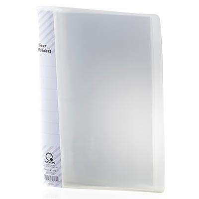 Pasta catálogo c/ 10 envelopes c/ visor transparente 0.12mm 1010 Plascony PT 1 UN