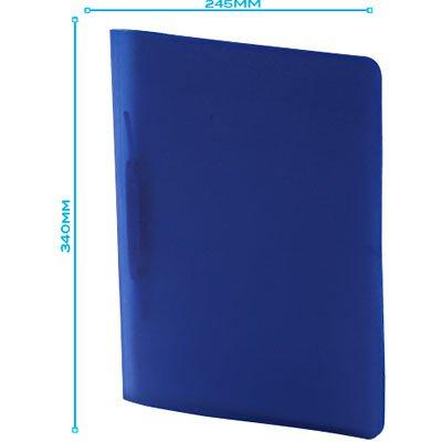 Pasta documento pp c/presilha romeu/julieta azul 500 Plascony PT 1 UN