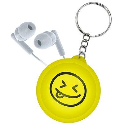 Organizador p/cabos e fios chaveiro smiles I2Go CX 1 UN