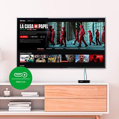 Smart Box Android TV Izy Play 4143010 Intelbras CX 1 UN