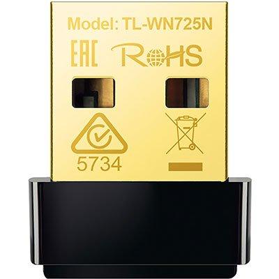Adaptador Wireless 150 mbps 802.11n usb Nano TL-WN725N Tp Link CX 1 UN