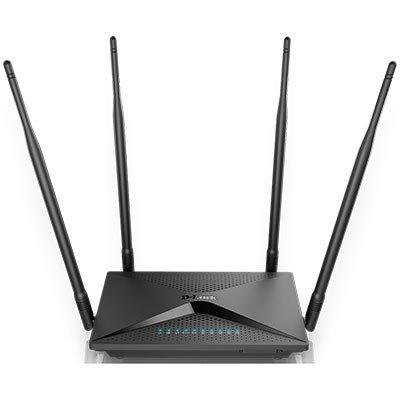 Roteador wireless 4 portas Gigabite Dual Band AC1300 DIR-853 D Link CX 1 UN