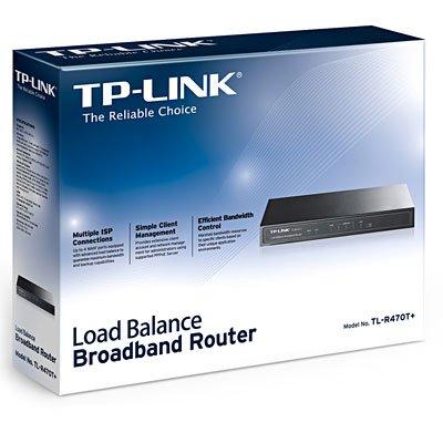 Roteador Load Balance 4 portas Tl-R470T+ Tp Link CX 1 UN