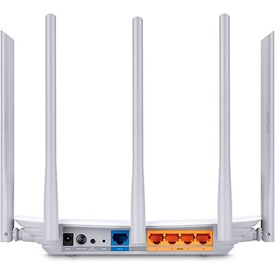 Roteador wireless 4 portas Dual Band AC1350 C60 Tp Link CX 1 UN