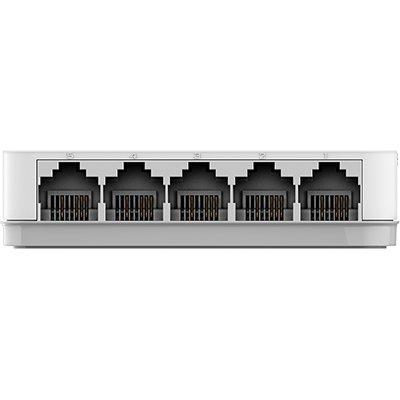 Switch 5 portas 10/100 Mbps não gerenciável DES-1005C D Link CX 1 UN
