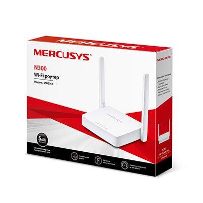 Roteador wireless 2 portas 300mbps MW301R Mercusys CX 1 UN