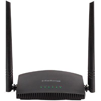 Roteador wireless 3 portas 300mbps RF 301K Intelbras CX 1 UN