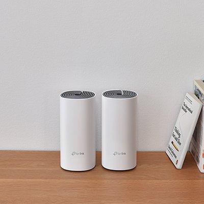 Roteador Wireless Sistema Wi-Fi Mesh em Toda a Casa AC1200 Deco E4 Tp Link CX 2 UN