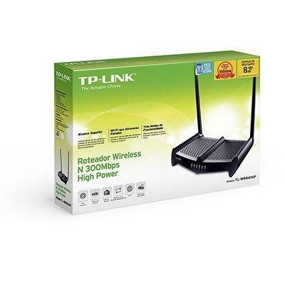 Roteador Wireless Alta Potência 1.000 mw 300mbps TL-WR841HP Tp-Link CX 1 UN