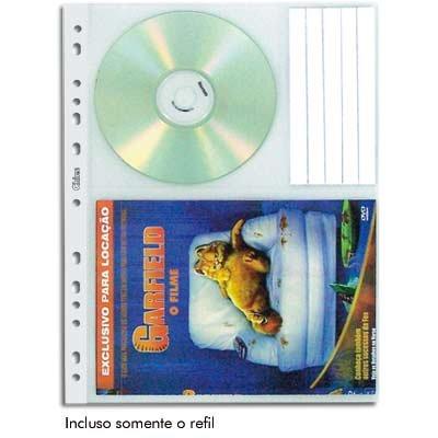 Refil de fichário p/Dvd c/furação universal 1411 Chies PT 10 UN
