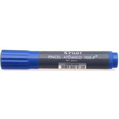 Pincel marcador atômico azul 1.100-p Pilot CX 12 UN