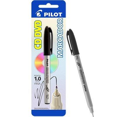 Pincel marcador permanente 1,0mm preto Pilot BT 1 UN