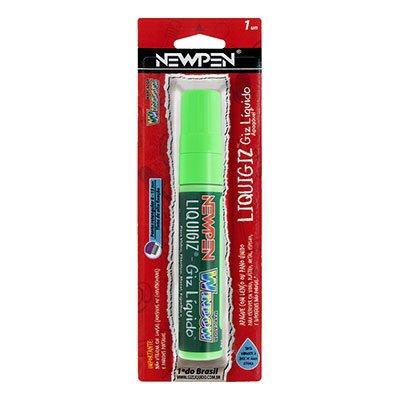 Giz líquido retangular 8mm / 15mm verde 05.589 Newpen BT 1 UN
