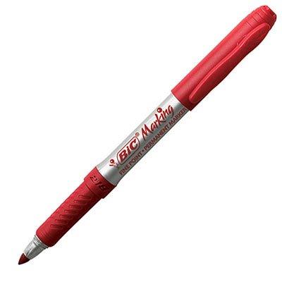 Pincel marcador permanente 1,1mm vermelho 970987 BIC BT 1 UN