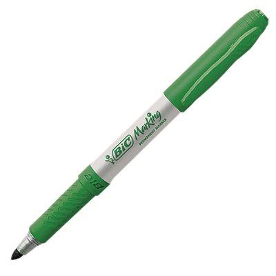 Pincel marcador permanente 1,1mm verde 970988 BIC BT 1 UN