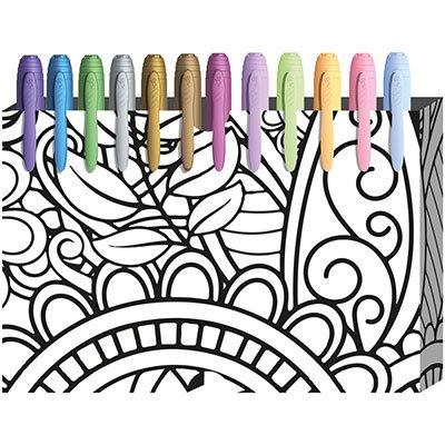 Pincel marcador permanente 1,1mm lilás pastel 970992 BIC PT 1 UN