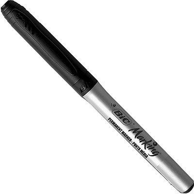 Pincel marcador permanente 1,1mm preta 886440 BIC BT 1 UN