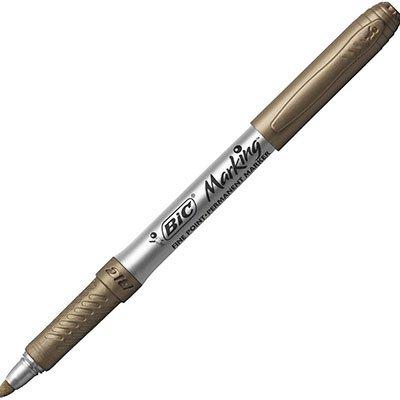 Pincel marcador permanente 1.1mm metálico bronze 971034 BIC UN 1 UN