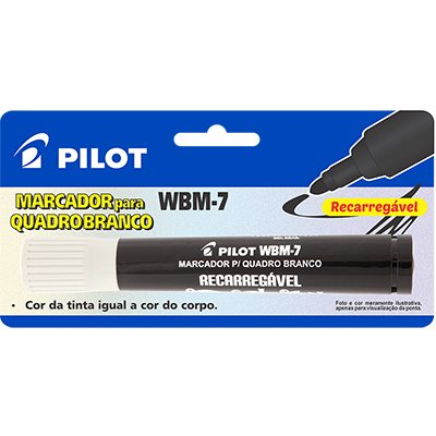 Pincel quadro branco 2,0mm preto wbm-7 M024PR Pilot BT 1 UN