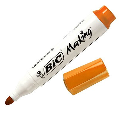 Pincel quadro branco 2.0mm laranja 930086 BIC BT 1 UN